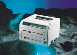 First Ecosys printer FS-1500 in 1992