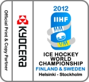 Official Print & Copy Partner of the IIHF Ice Hockey World Championship 2012