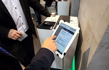 Cebit exhibition 2014 - Kyocera mobile printing